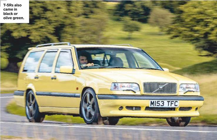 VOLVO 850 T-5R Review